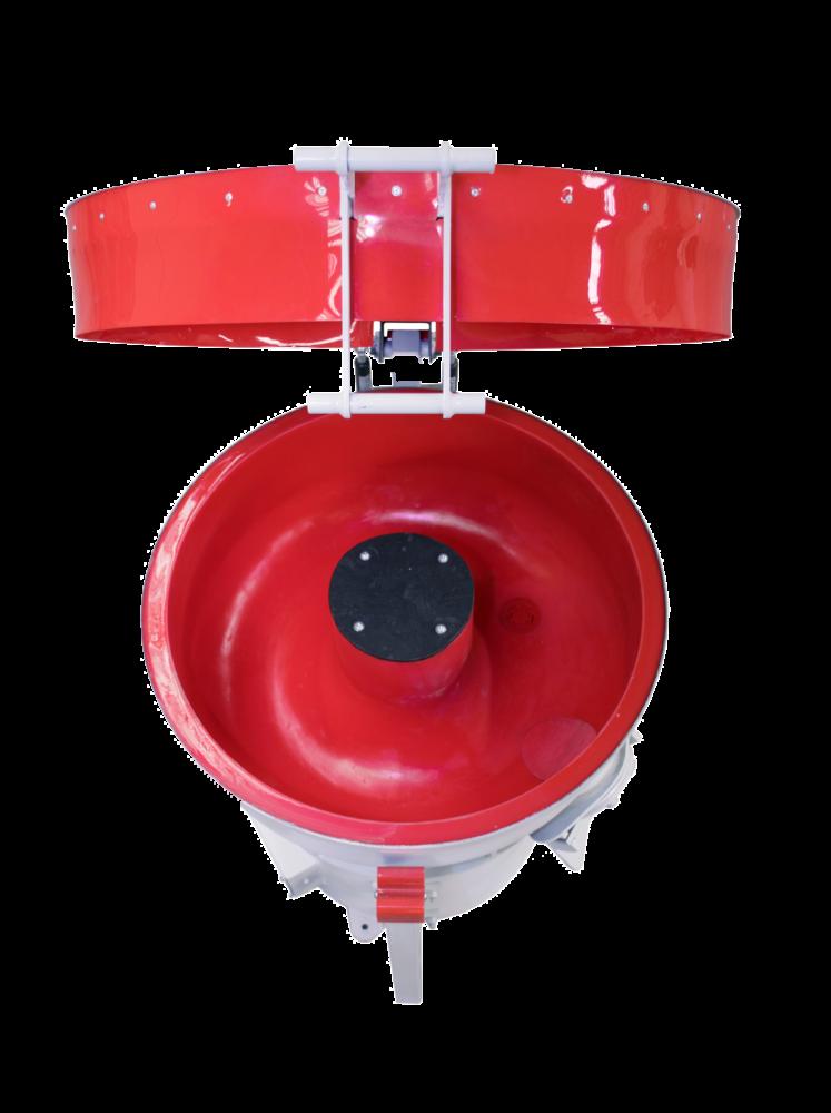 vibrateur circulaire vue de haut