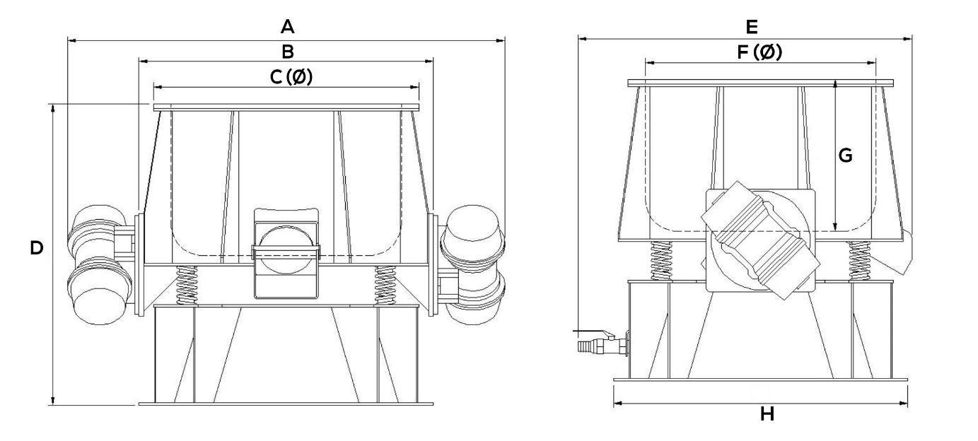 Schéma machine de polissage des jantes